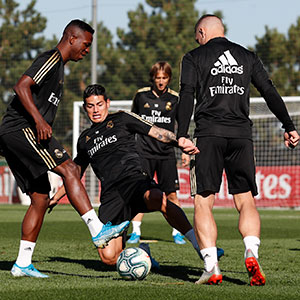 Real Madrid - Entrenamiento del Real Madrid - 04-10-2019
