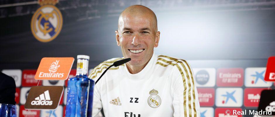 """Video: Zidane: """"Hemos tenido poco tiempo para recuperarnos pero estamos listos para jugar"""""""