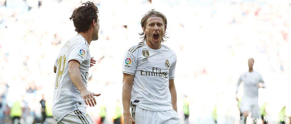 Video: 4-2: El Real Madrid llega líder al parón de selecciones