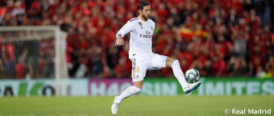 Video: Ramos supera los partidos de Liga de Gento