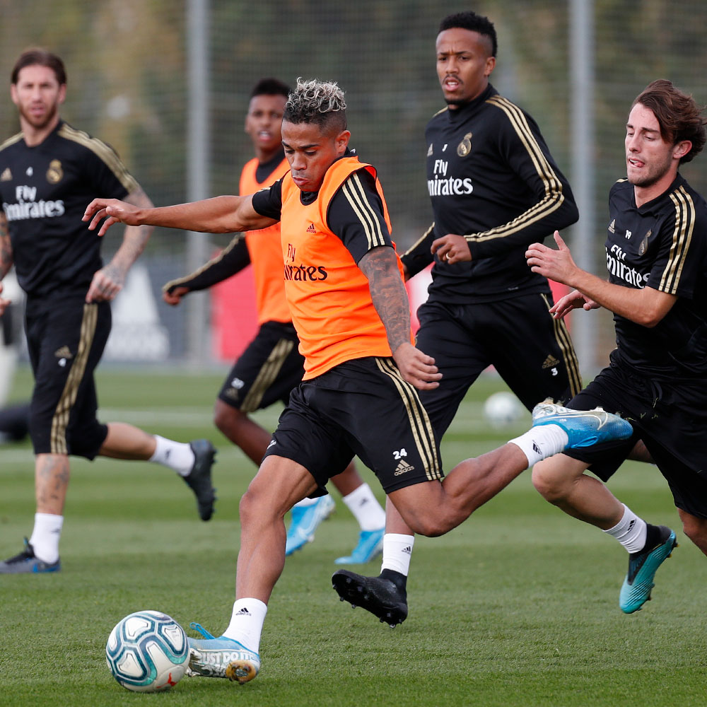 Real Madrid - Entrenamiento del Real Madrid - 01-11-2019