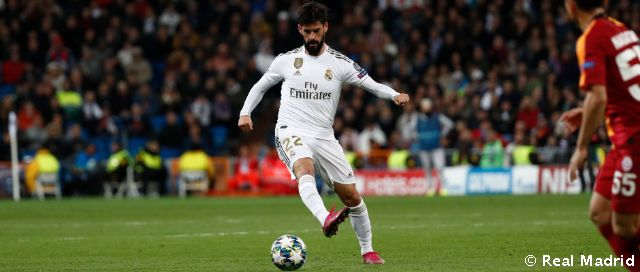 Isco, 200 wins for Real Madrid