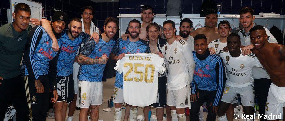 Video: Carvajal: 250 partai bersama Real Madrid