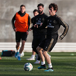 Real Madrid - Entrenamiento del Real Madrid - 12-11-2019