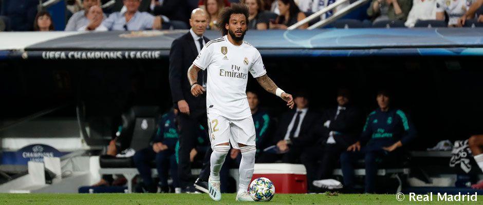 Video: Marcelo recuerda su presentación con el Real Madrid