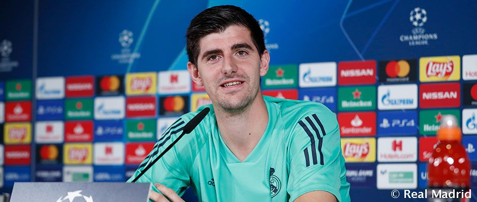 Video: Courtois: We must perform well from the first second
