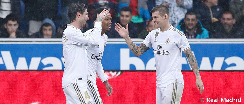 Video: 1-2: Victoria del Real Madrid en Mendizorroza