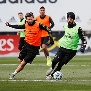 Real Madrid - Entrenamiento del Real Madrid - 04-12-2019
