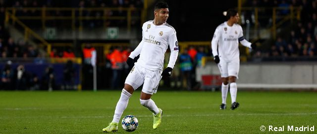 Casemiro racks up 50th Champions League appearance for Real Madrid