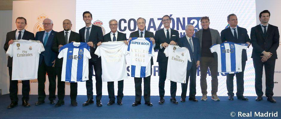 Video: La Fundación Real Madrid presenta el Corazón Classic Match 2020 'Unidos por la infancia'