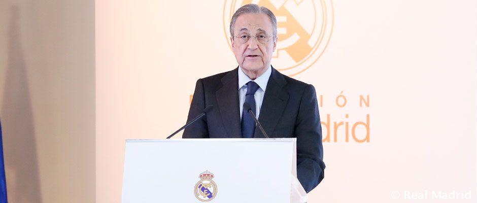 Video: Discurso íntegro de Florentino Pérez en el acto de presentación del Corazón Classic Match 2020