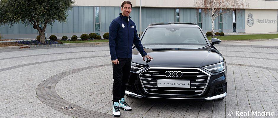 Video: Audi entrega los vehículos oficiales a la primera plantilla de fútbol
