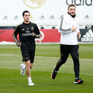 Real Madrid - Entrenamiento del Real Madrid - 19-12-2019