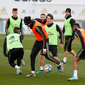 Real Madrid - Entrenamiento del Real Madrid - 21-12-2019