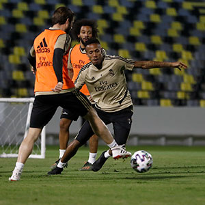 Real Madrid - Entrenamiento del Real Madrid en Yeda - 09-01-2020