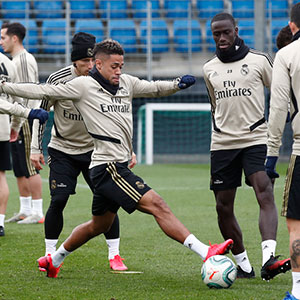 Real Madrid - Entrenamiento del Real Madrid - 25-01-2020