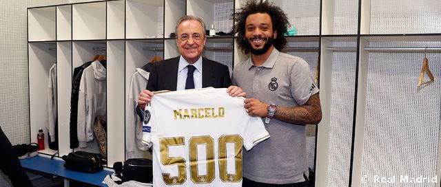 Marcelo: 500 matchs avec le Real Madrid