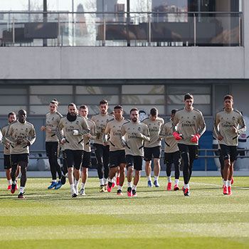 Real Madrid - Entrenamiento del Real Madrid - 07-02-2020