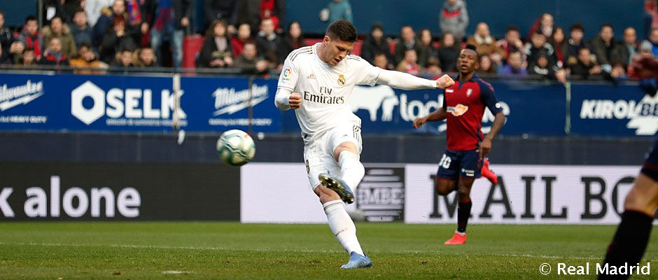 Video: Jović sealed the victory over Osasuna with this left-foot screamer
