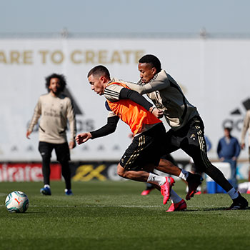 Real Madrid - Entrenamiento del Real Madrid - 20-02-2020