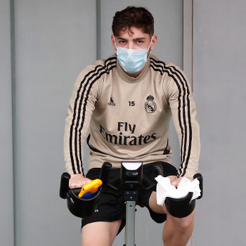Real Madrid - Entrenamiento del Real Madrid - 14-05-2020