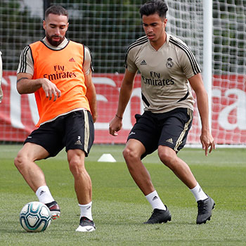 Real Madrid - Entrenamiento del Real Madrid - 11-06-2020