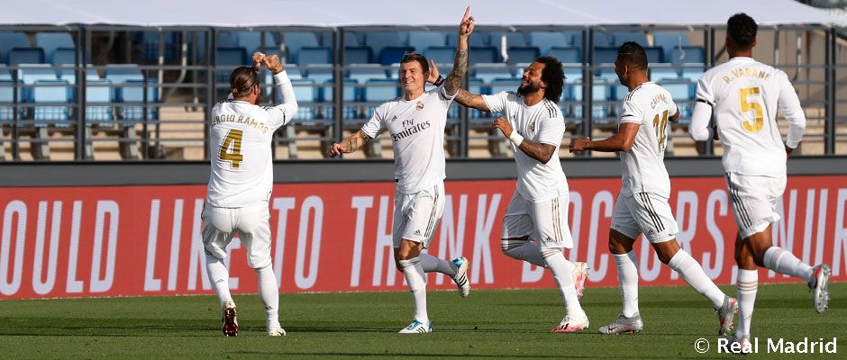 Video: Kroos enjoying his most prolific season at Real Madrid in front of goal