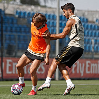 Real Madrid - Entrenamiento del Real Madrid - 29-07-2020