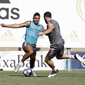 Real Madrid - Entrenamiento del Real Madrid - 31-07-2020