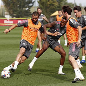 Real Madrid - Entrenamiento del Real Madrid  - 14-09-2020