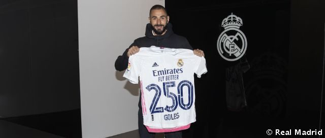 Benzema, 250 buts avec le Real Madrid