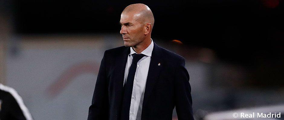 """Video: Zidane: """"Si no entras bien en el partido las cosas se complican"""