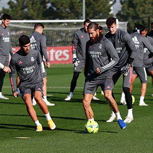 Real Madrid - Entrenamiento del Real Madrid  - 23-10-2020