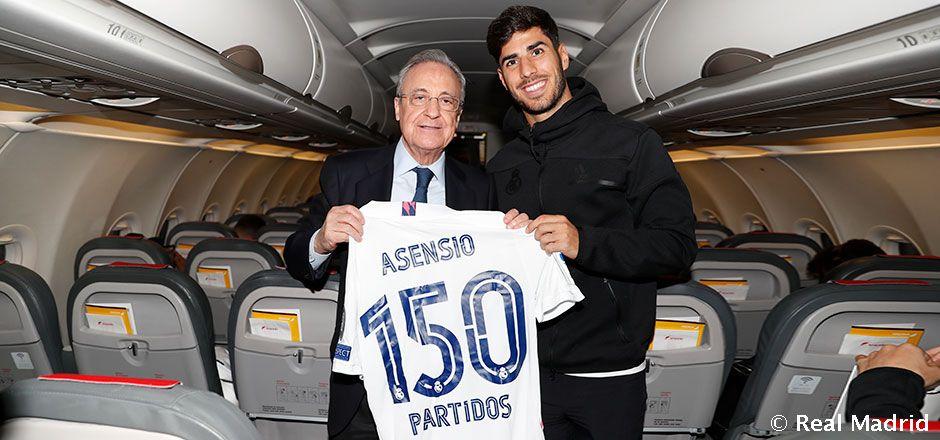 Video: Asensio, 150 partidos con el Real Madrid