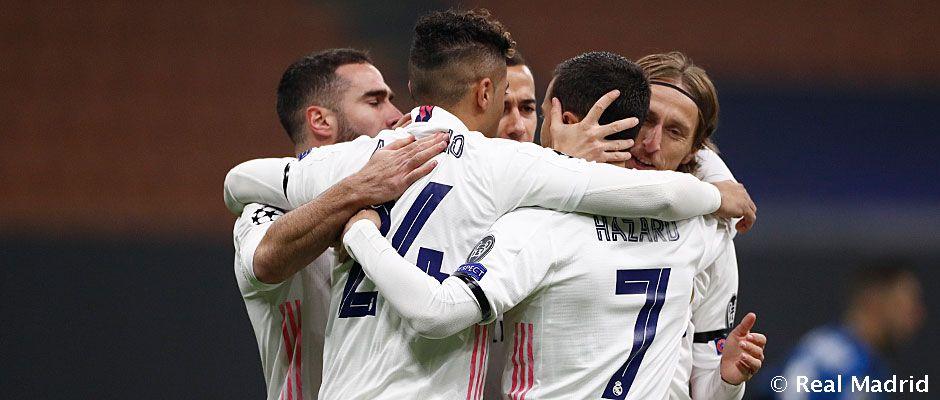 Video: 0-2: El Madrid vence en San Siro y da otro paso hacia los octavos