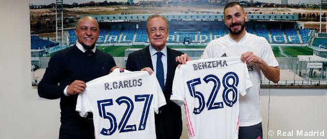 Video: Benzema becomes Real Madrid