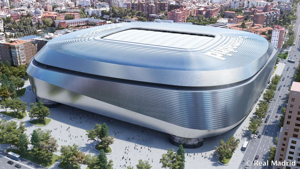Video: Le visage du nouveau stade Santiago Bernabéu