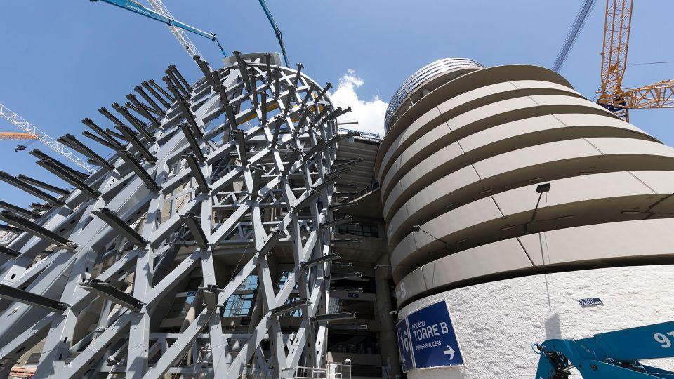 Video: Construcción de las nuevas torres del paseo de la Castellana