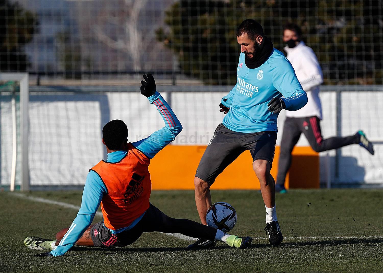Entrenamiento del Real Madrid en Málaga - 03-03-2021