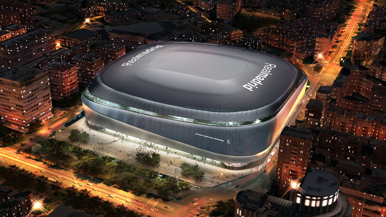 Así será el estadio Santiago Bernabéu - 24-10-2021