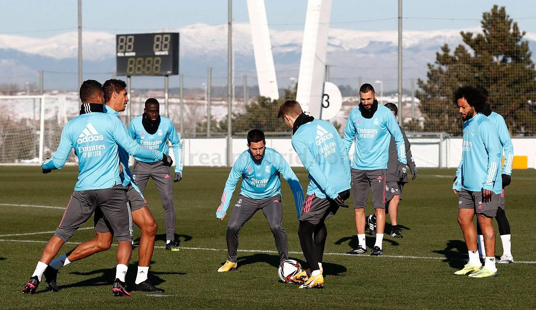 Entrenamiento del Real Madrid - 18-06-2021