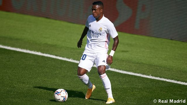 Video: Vinicius Jr. on target in back-to-back games