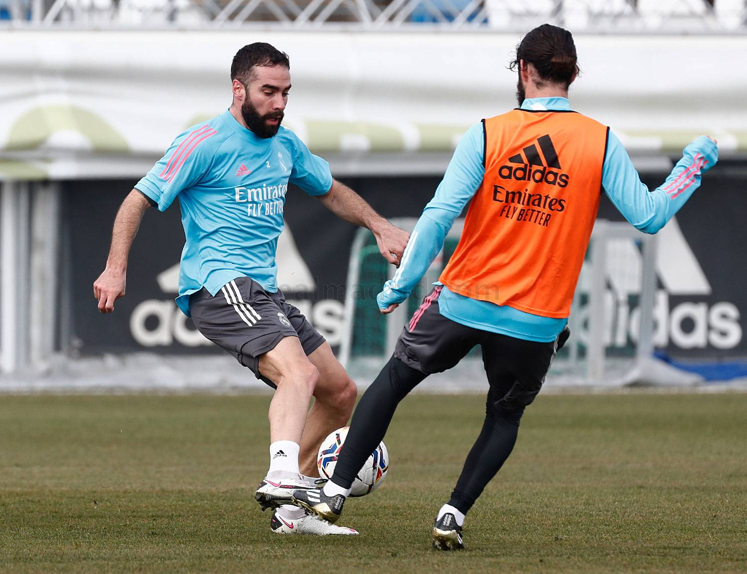 Entrenamiento del Real Madrid  - 03-03-2021