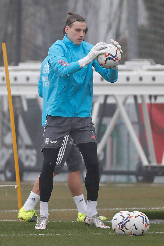 Entrenamiento del Real Madrid  - 18-04-2021