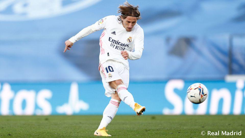 Video: Modric: 250 jogos da Liga pelo Real Madrid