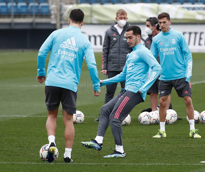 Entrenamiento del Real Madrid  - 11-02-2021