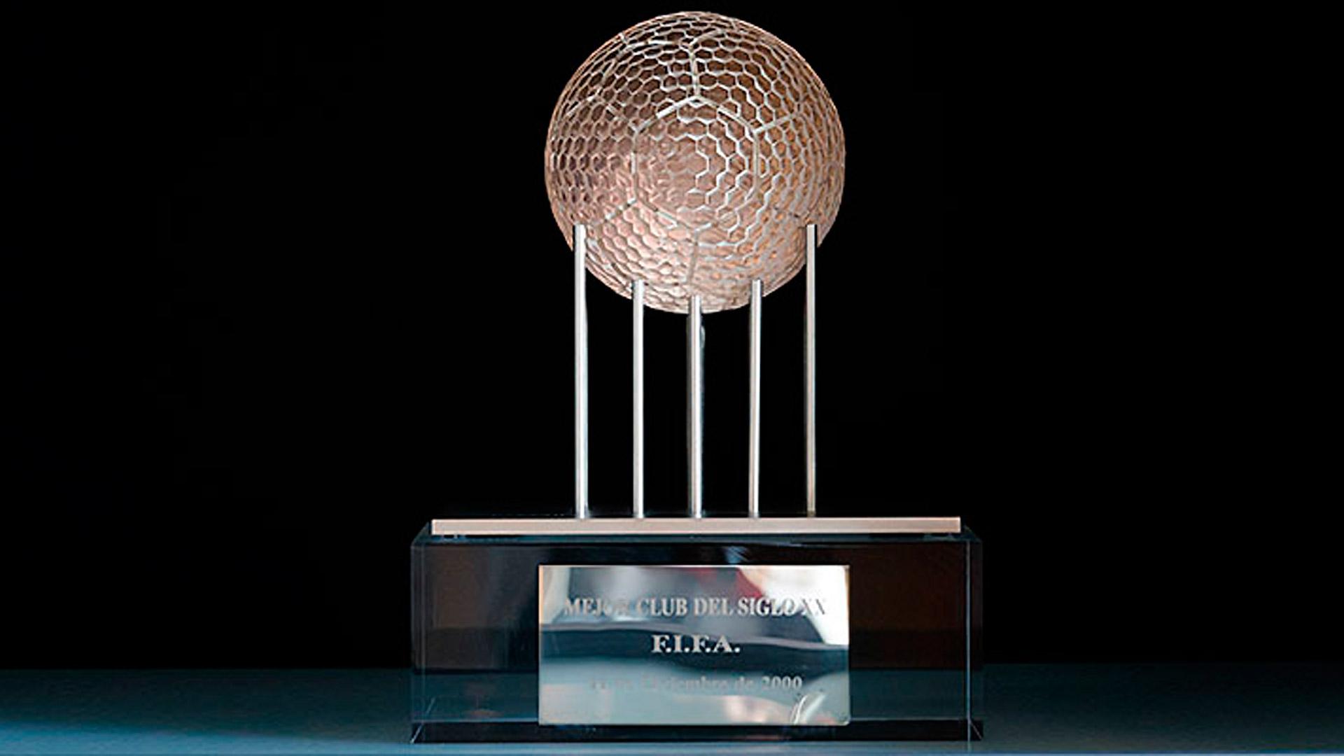 Trofeo mejor club siglo XX FIFA