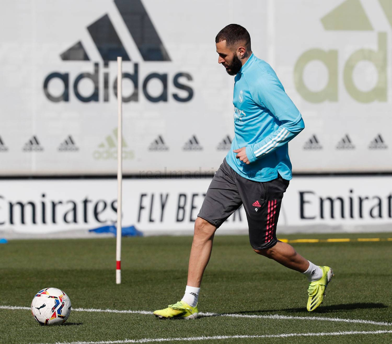Entrenamiento del Real Madrid  - 10-04-2021