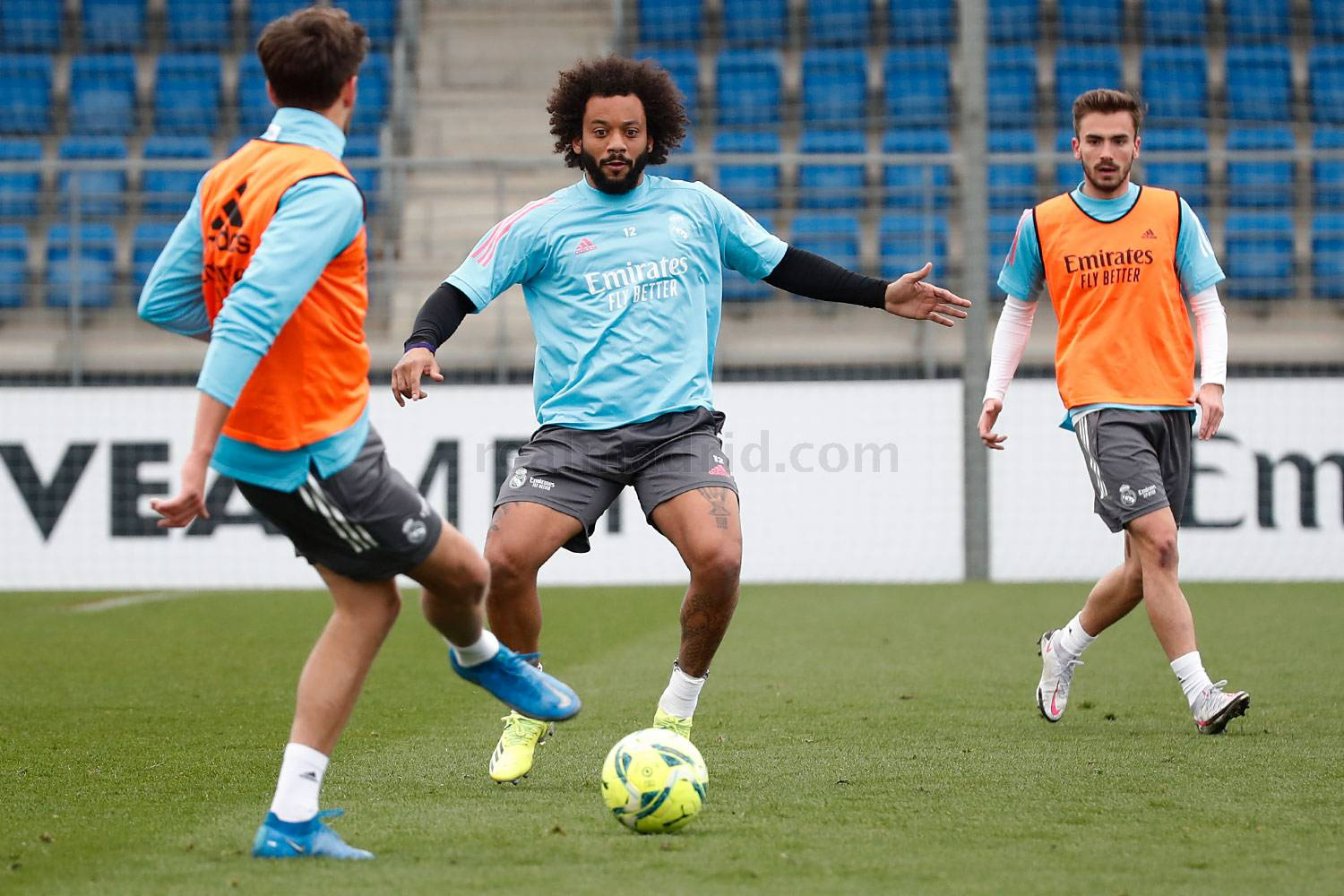 Entrenamiento del Real Madrid  - 11-04-2021
