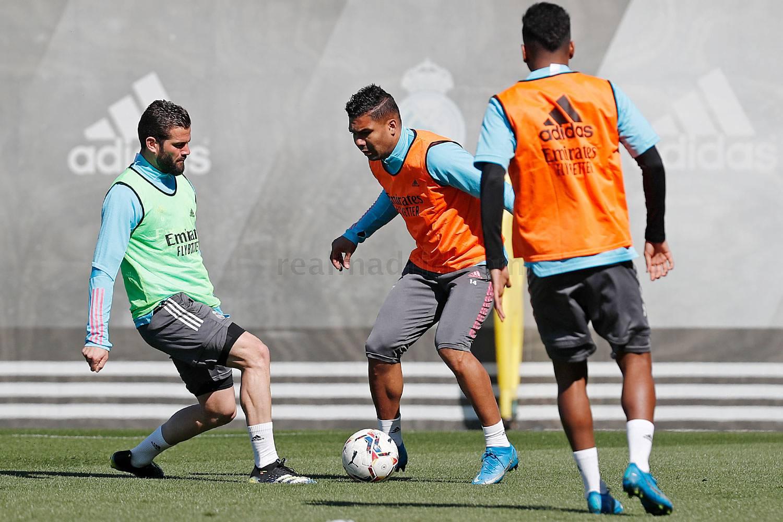 Entrenamiento del Real Madrid  - 19-09-2021